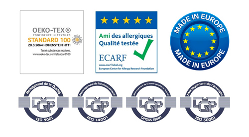 garantie housse anti acariens europe